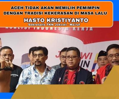 Warga Aceh Tolak Pemimpin dengan Tradisi Kekerasan