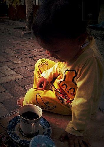 [Peaceful with Coffee] Kenalkan Rasa sejak Usia Dini