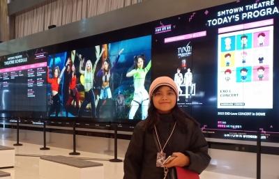 Mengintip Rahasia Kejayaan Bintang K-Pop di SMTOWN Korea Selatan
