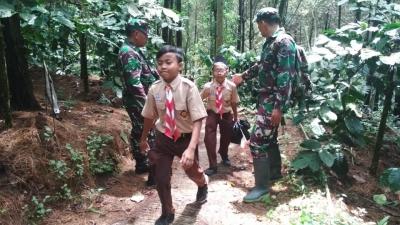 Ini Upaya TNI Kodim Pati Dalam Membina Karakter Generasi Muda