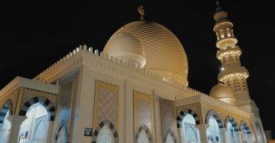 Masjid ala Timur Tengah, Ketika Imajinasi Seorang Penulis Menjadi Nyata