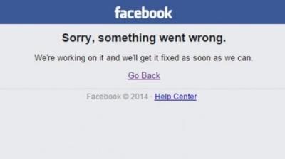 Error Facebook & Kemelekatan Kita!