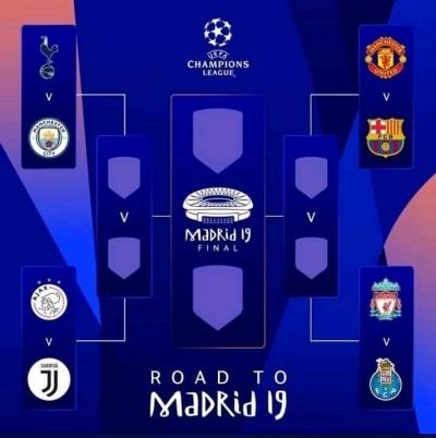 Sisi Lain Perempat Final Liga Champions Musim Ini