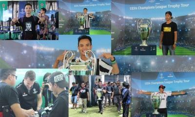 UEFA Champions League Trophy Tour Bali 2019