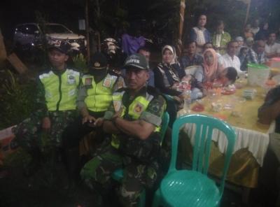 Sinergitas TNI Polri dalam Pengamanan Dangdut di Kecamatan Bangsri