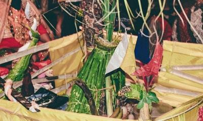 Ritual Balia, Bencana Gempa  di Palu