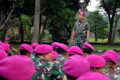 Danyonif 1 Mar: Prajurit Marinir agar Tidak Terpengaruh Gaya Hidup Mewah