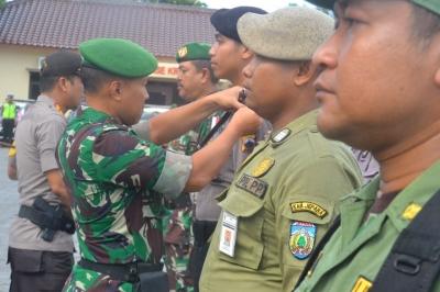 Apel Gelar Pasukan Kesiapan TNI Polri dalam Rangka Pileg dan Pilpres 2019