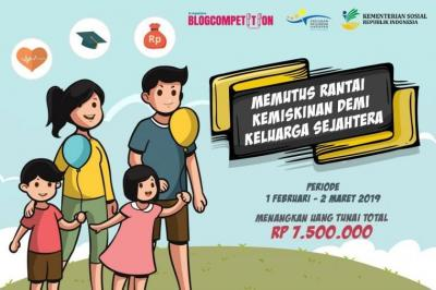Inilah Pemenang Blogcomp Program Keluarga Harapan Kemensos