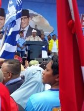 Capres Prabowo Subianto Sapa Semeton Bali, Janji Berantas Korupsi dengan Taruhan Nyawa