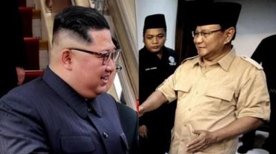 Prabowo dan Kim Jong-un