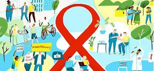 Kasus HIV/AIDS di Indonesia Mendekati Setengah Juta