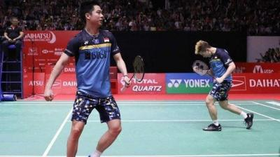 "Juara India Open, ""Diopen"" Gideon/Kevin Sanjaya"
