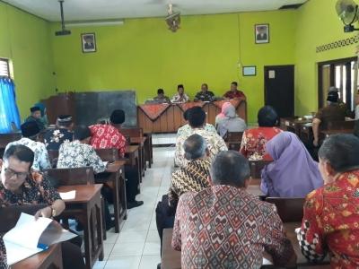 Danramil Welahan Hadiri Rapat Pembentukan Panitia Hardiknas 2019