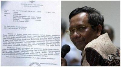 Jokowi Tidak Intervensi KPU Terkait Soal OSO