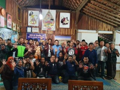 Warga Desa Maitan Tambakromo Kabupaten Pati Dukung Donny Imam Priambodo Jadi DPR Lagi