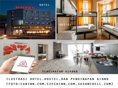 Trip ke Luar Negeri, Enak Nginap di Hotel, Hostel atau Airbnb?