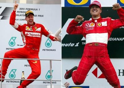 """Baby Schumi"" Julukan yang Tak Pernah Lepas untuk Sebastian Vettel"