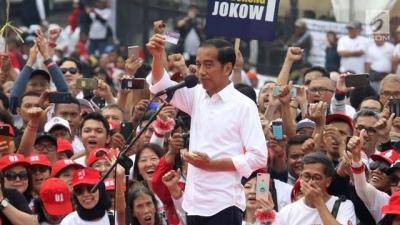 Dalam Orasi di Sukabumi, Jokowi Menyitir Soal Fitnah kepada Dirinya