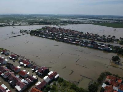 Indramayu Banjir, Mahasiswa Gelar Aksi
