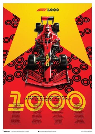 Preview Balap F1 GP China, Menuju Balapan ke-1000