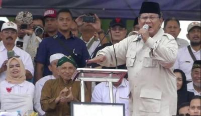 Prabowo Gebrak Podium dan Marah-marah, Settingan atau Karakter?