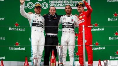 Lewis Hamilton Berhasil Memenangi Balapan F1 Ke-1000 di GP China