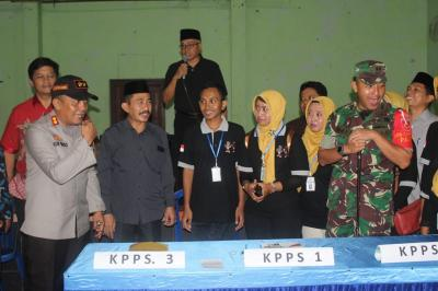 Forkompinda Pati Pastikan TPS Siap Dalam Pemilu Serentak 2019