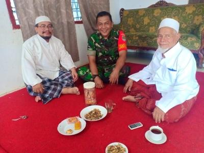 Jakarta Aman, Do'a Habib Ali Saat di Sambangi Danramil 03/GP
