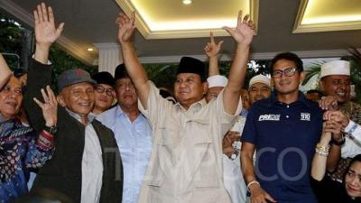 Paradoks Sikap Prabowo Dalam Merayakan Kemenangan