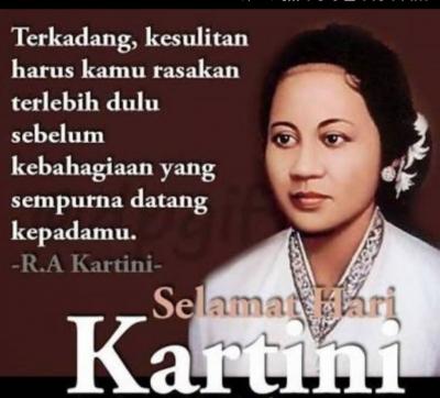 Kartini, Wanita Visioner yang Haus Ilmu