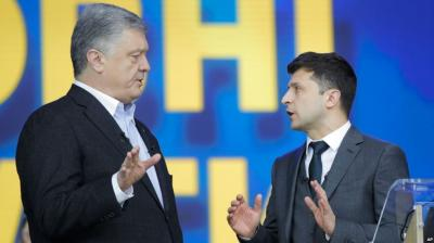 Sikap Legowo Petro Poroshenko atas Mujurnya Nasib Volodymyr Zelenskiy Patut Dicontoh