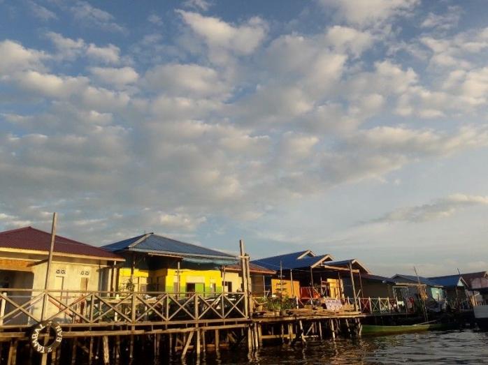 Ekowisata di Perkampungan Air Bontang Kuala dan Sungai Belanda