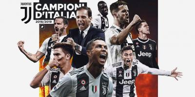 Rasa Hambar Scudetto Juventus