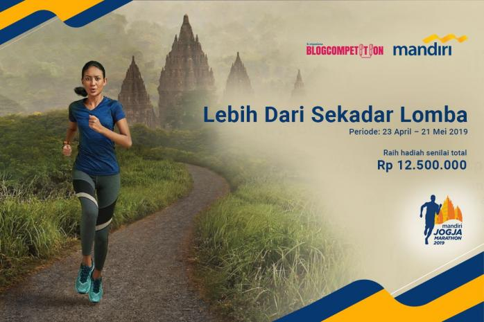 Mandiri Jogja Marathon, Lebih Dari Sekadar Lomba!