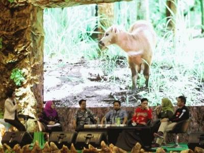 Kiprah BP2LHK Manado Melalui Anoa Breeding Centre dalam Indogreen Forestry Expo 2019