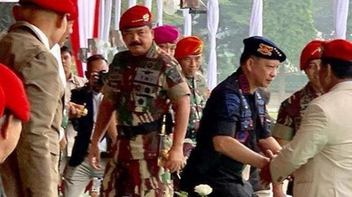 Ketika Prabowo Subianto Hadir di HUT Koppasus ke 67
