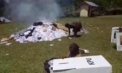 Hoaks Viral Pembakaran Surat Suara di Jayapura, Upaya Diskreditkan 01 Gagal