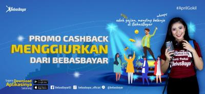 Promo Cashback Menggiurkan dari BebasBayar bagi Penggunanya