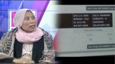 Chusnul Mariyah: Mbo Sekali-kali, Ada Suara Prabowo yang Digelembungkan