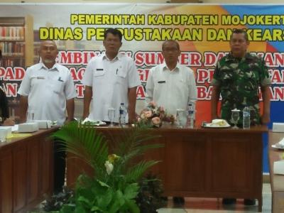 Wujudkan Sinergitas TNI, Pemda Kodim 0815 Sosialisasikan Peran TNI dalam Pembangunan Desa