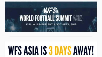 Soccerpedia.id: Media Online Partner World Football Summit (WFS) Asia 2019