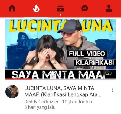 Apa yang Menarik Perhatian Netizen terhadap Trending Lucinta Luna di Youtube?