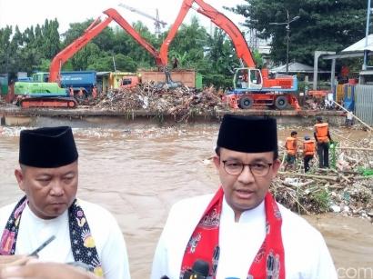 """Banjir DKI dan Kepemimpinan Anies """"Single Fighter"""" Lebih dari 9 Bulan"""
