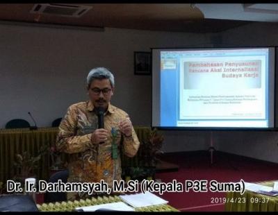 Rapat Pembahasan Penyusunan Rencana Aksi Internalisasi Budaya Kerja