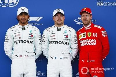 Valtteri Bottas Meraih Pole Position di GP Azerbaijan Mengalahkan Lewis Hamilton dan Sebastian Vettel