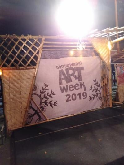 Pagelaran Banyuwangi Art Week Digelar Serentak dengan Jawa Timur Goverment Expo