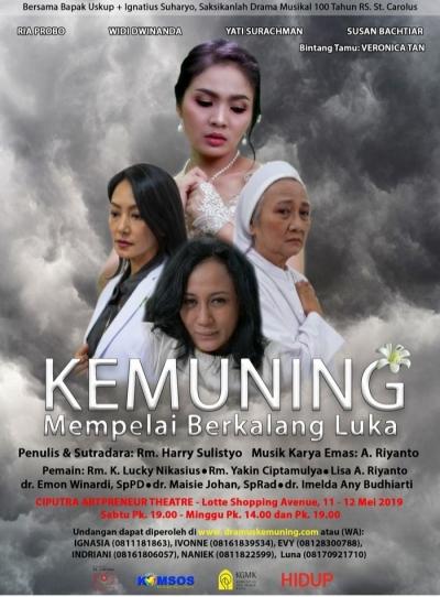 """Terbaru, Veronica Tan Bintang Tamu Drama """"Kemuning"""", Kisah Korban Perkosaan '98"""