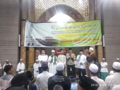 Ini Pesan Kapolsek Cengkareng Saat Hadiri Peringatan Isra Mi'raj & Peresmian Masjid Nurul Iman