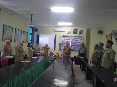 Rakor Lintas Sektor Danramil 0815/15 Jatirejo Sampaikan Program Jambanisasi